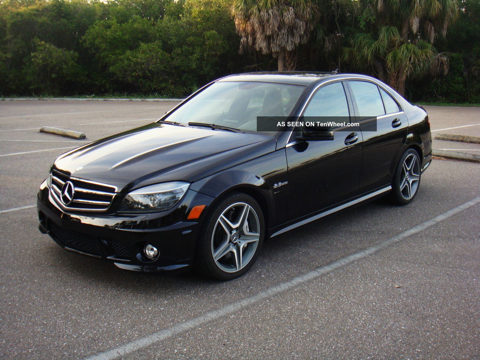 2010 mercedes benz c63 amg sport sedan 4 door 6 3l for Mercedes benz 4 door