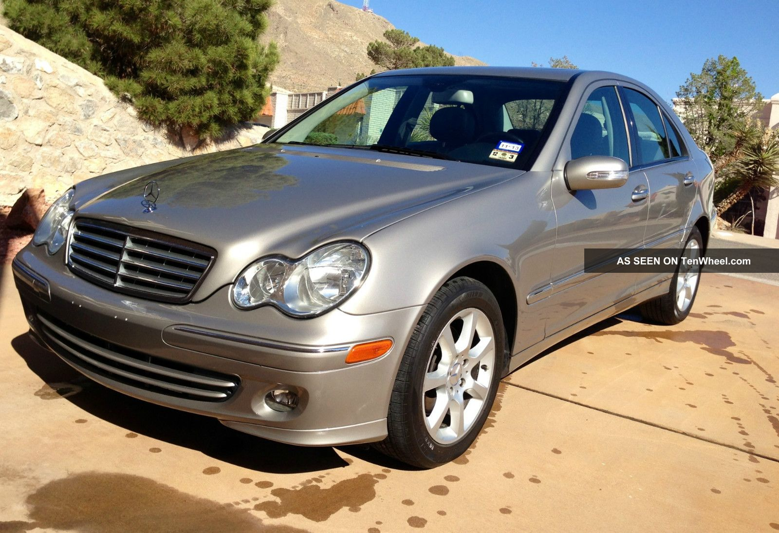 2007 mercedes benz c280 4matic sedan 4 door 3 0l for 2007 mercedes benz suv