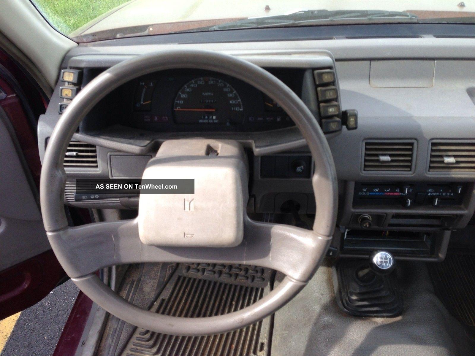 1989 Isuzu Pickup S Cab Pickup 2 Door 2 3l