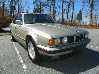1990 Bmw 525i Sedan Runs Good Loaded Cd Player 180k Title photo