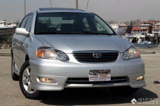 2005 Toyota Corolla S 1.  8l Power Alloy Wheels Rear Spoiler photo