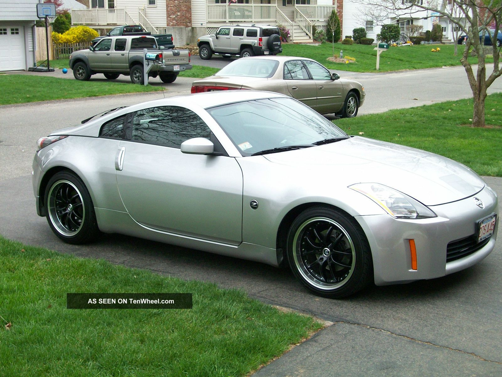 2003 nissan 350z performance coupe 2 door 3 5l. Black Bedroom Furniture Sets. Home Design Ideas