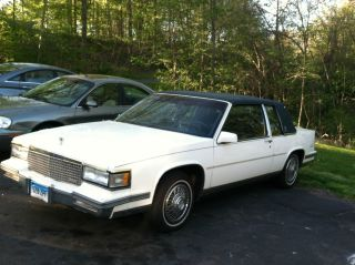 1988 Cadillac Deville Base Coupe 2 - Door 4.  5l photo