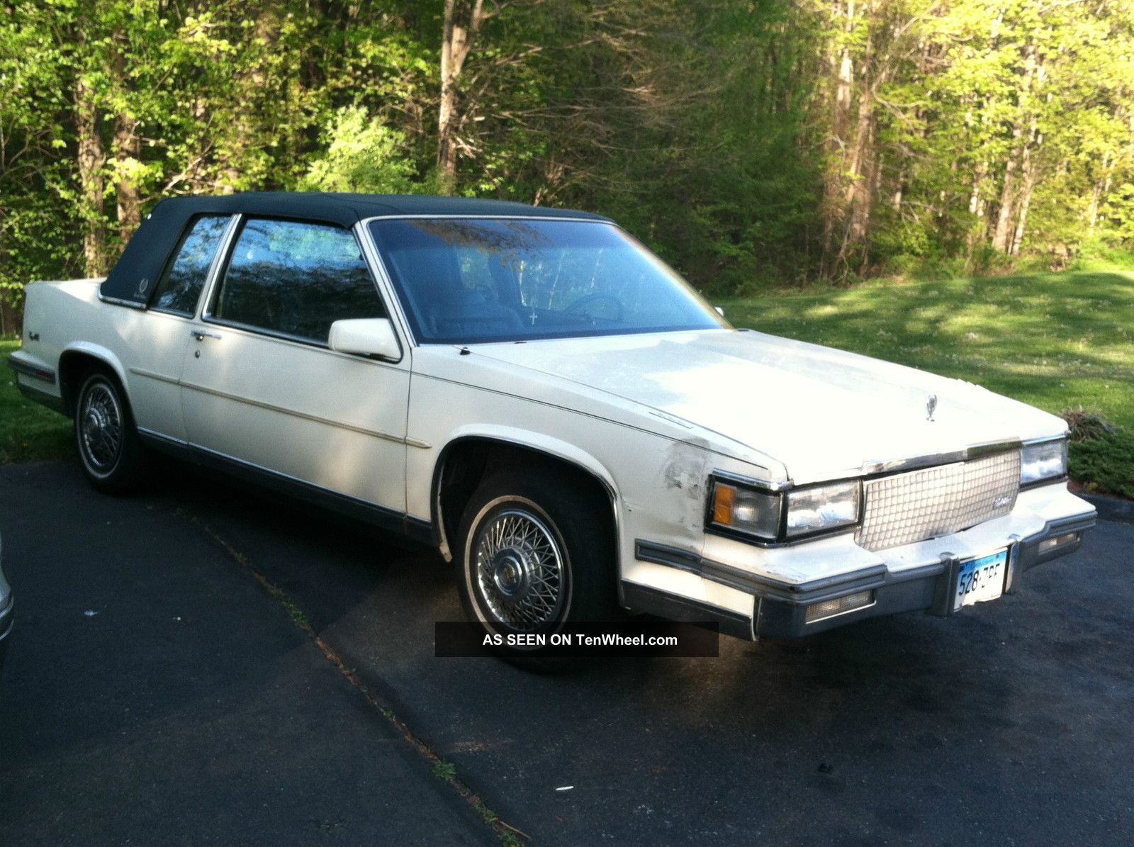 1988 cadillac deville base coupe 2 door 4 5l. Cars Review. Best American Auto & Cars Review