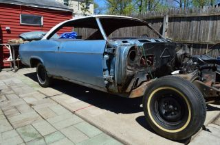1966 Chevy Impalasport Coupe V - 8 Project Car photo