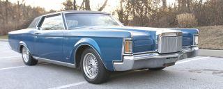 1970 Lincoln Mark Iii Base 7.  5l photo