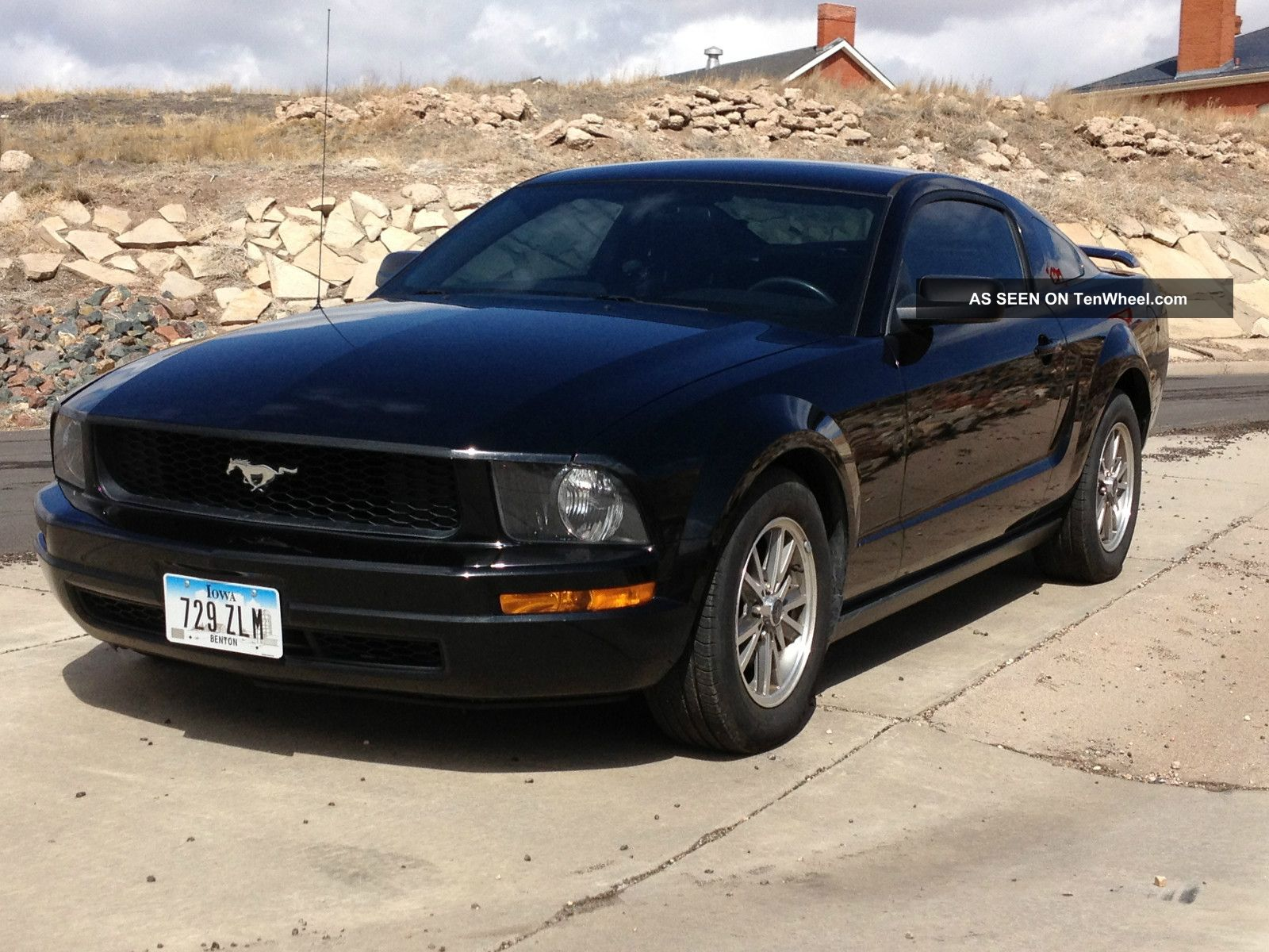 mustang 2005 ford manual coupe speed door premium 0l