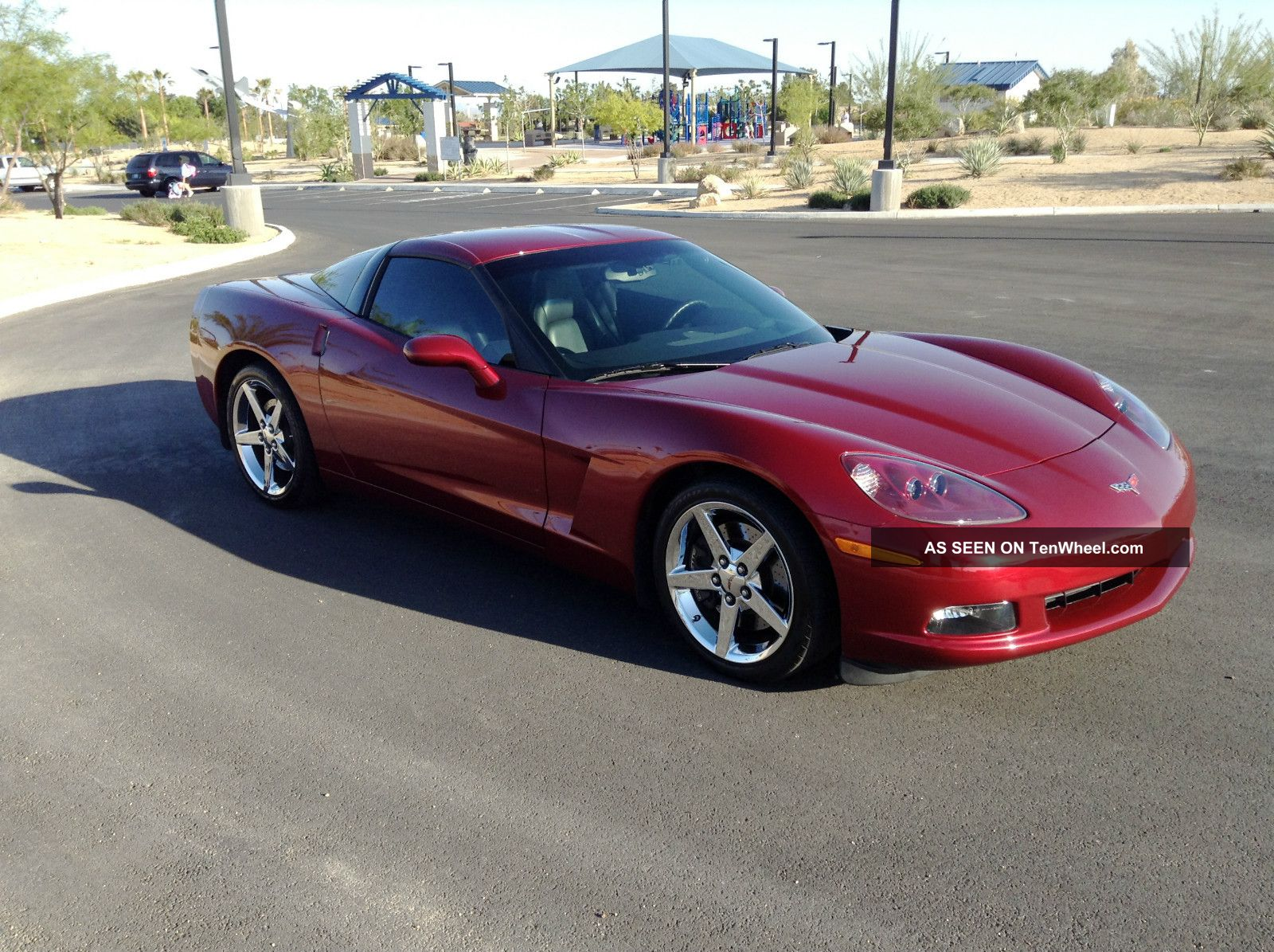 2007 Chevrolet Corvette 3lt Desert Car