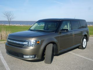2013 Ford Flex Sel Sport Utility 4 - Door 3.  5l Clear Title photo