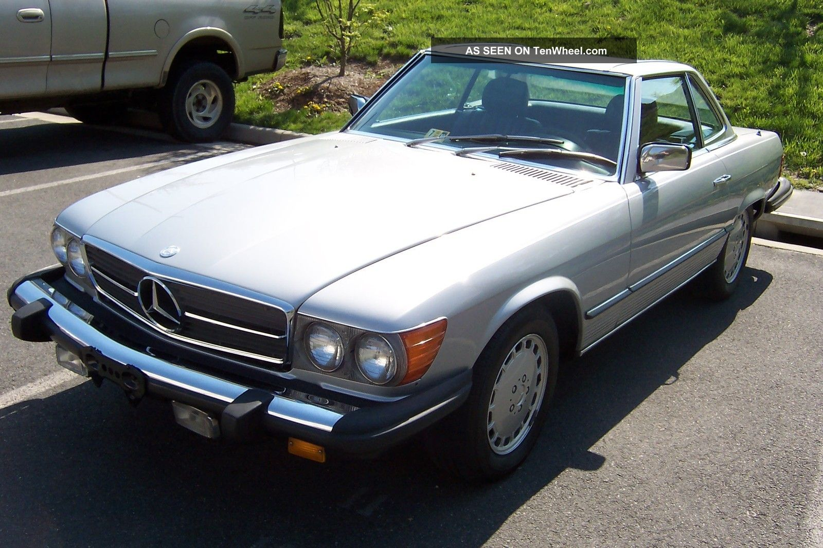 1982 mercedes benz 380 sl convertible