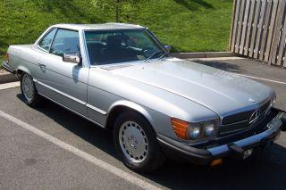 1982 Mercedes Benz 380 Sl Convertible photo