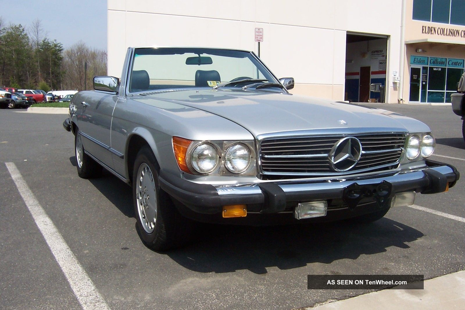 1982 mercedes benz 380 sl convertible for Mercedes benz sl convertible