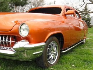1950 Mercury Custom Street Rod,  Full Air Bag Suspension System photo