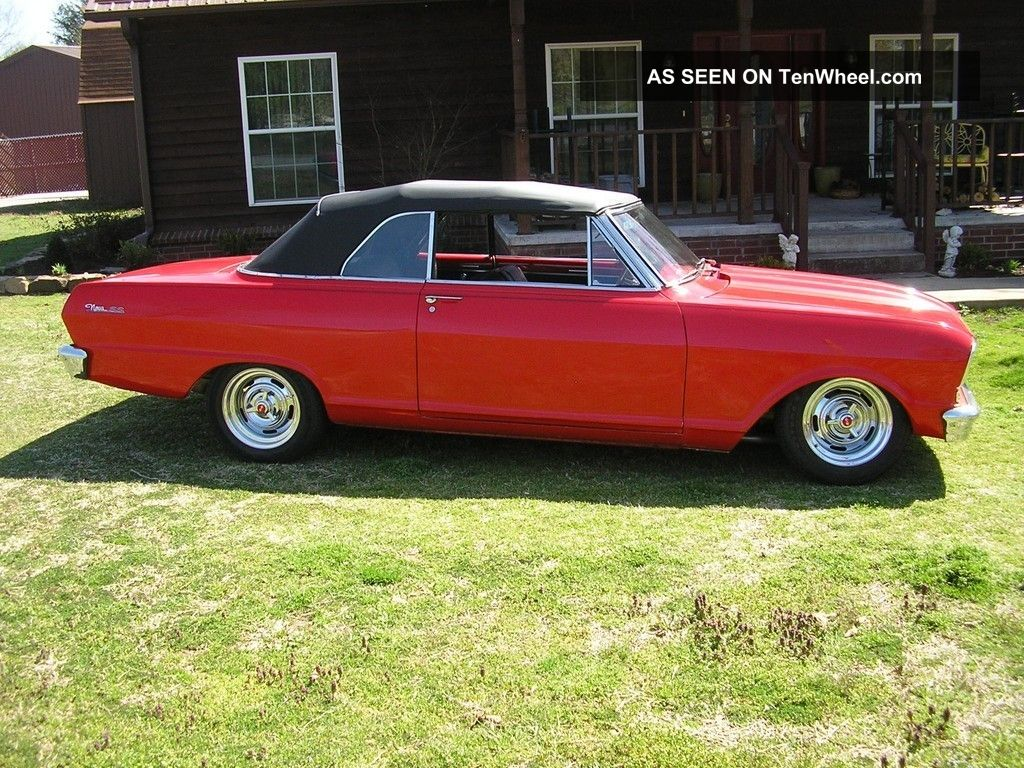 1963 Nova Air Bags 406 Auto Custom Classic Street Fighter