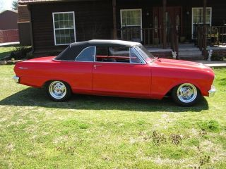1963 Nova Air Bags 406 Auto Custom Classic Street Fighter Hot Rod Show Car photo