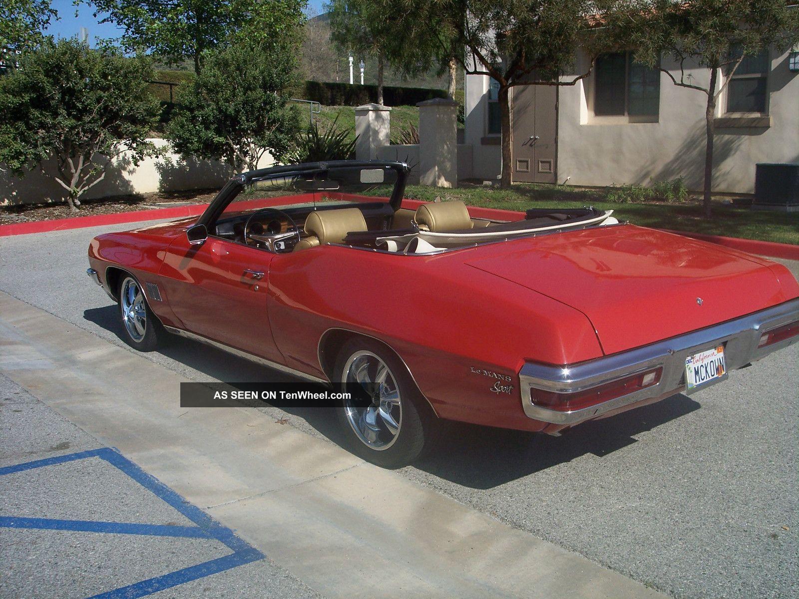 1971 pontiac lemans sport convertible. Black Bedroom Furniture Sets. Home Design Ideas