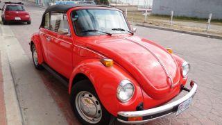 1978 Volkswagen Beetle Convertible,  Limited Karmann Editon,  2 - Door,  1.  6l photo