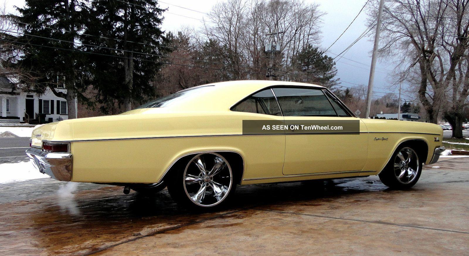 1966 Chevy Impala Ss Lowered Big Block Foose Wheels Impala photo