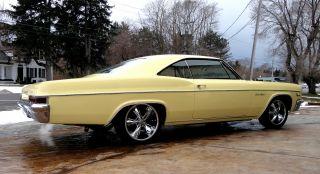 1966 Chevy Impala Ss Lowered Big Block Foose Wheels photo