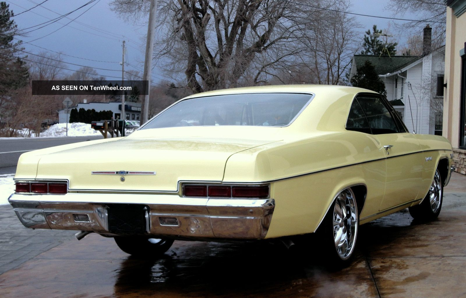 1966 Chevy Impala Ss Lowered Big Block Foose Wheels