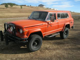 1983 Jeep Cherokee Base Sport Utility 2 - Door 5.  9l photo