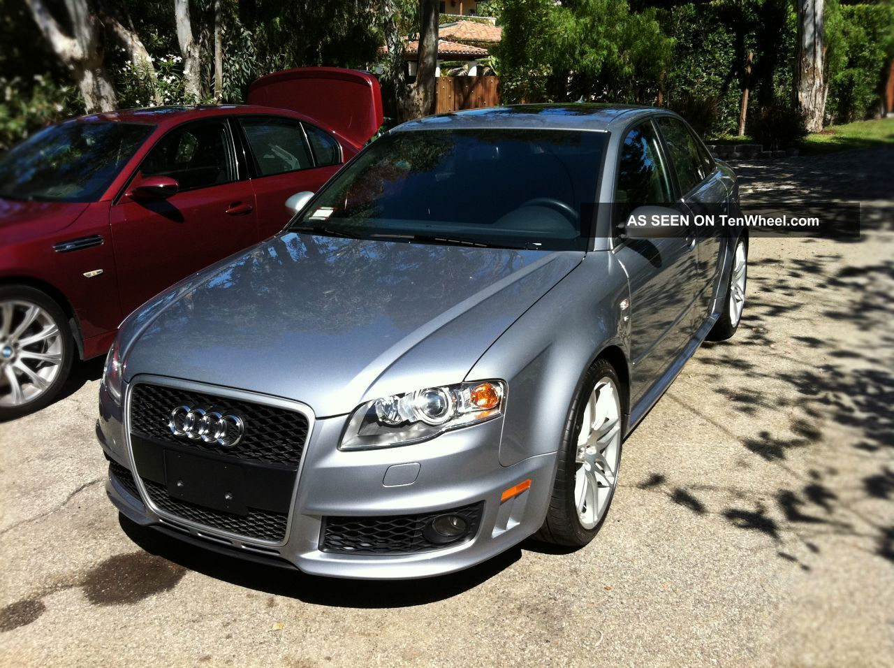 service manual 2008 audi rs4 door trim buy used 2008 audi rs4 cabriolet convertible 2 door 4. Black Bedroom Furniture Sets. Home Design Ideas