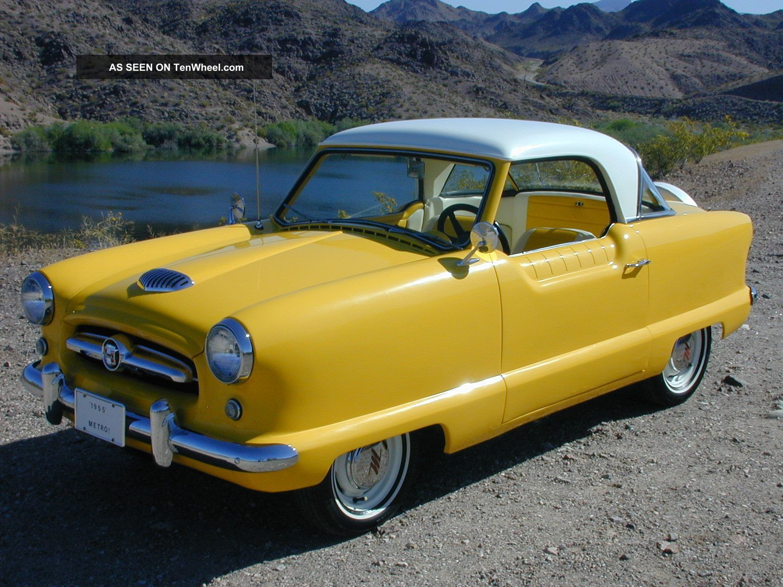 1955 Nash Metropolitan Series Ll 1 Family Owned