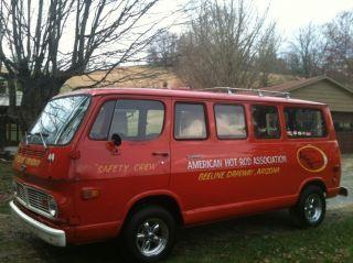 """1968 Chevrolet Sportsman 108 Van """" Drag Way Safety Crew Van """""""