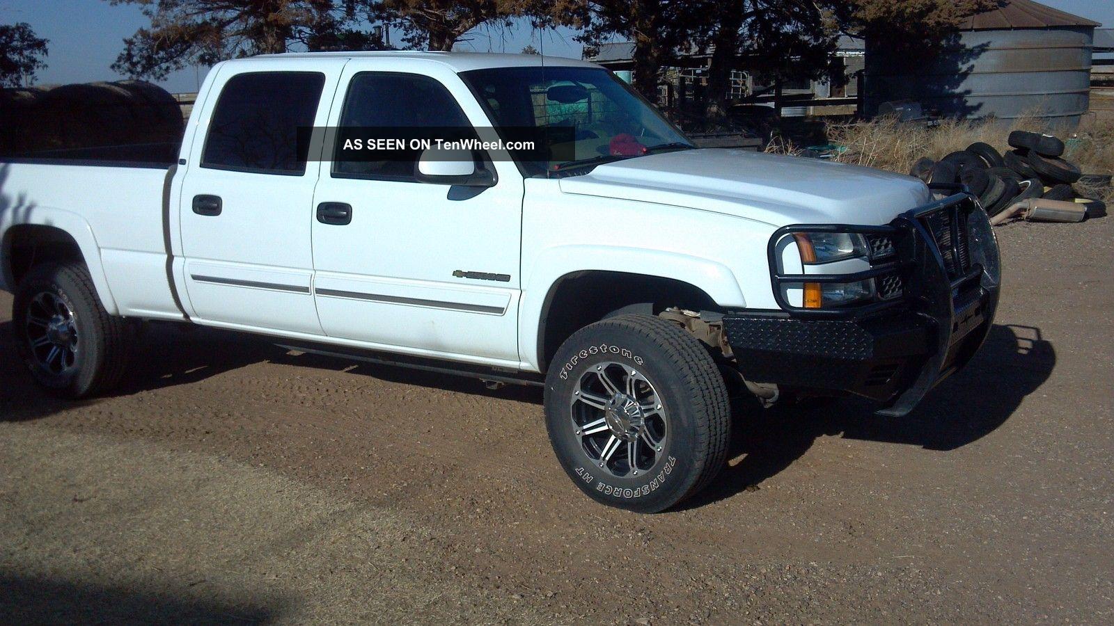 2005 chevrolet silverado 2500 hd ls crew cab pickup 4 door 6 0l. Black Bedroom Furniture Sets. Home Design Ideas