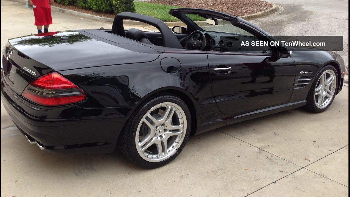 2008 mercedes benz sl55 amg base convertible 2 door 5 5l