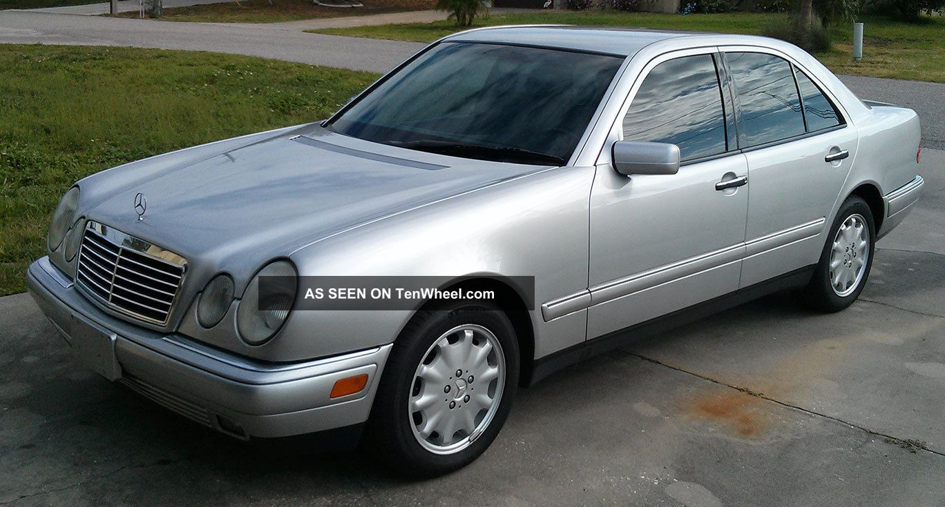 1998 mercedes benz e320 base sedan 4 door 3 2l