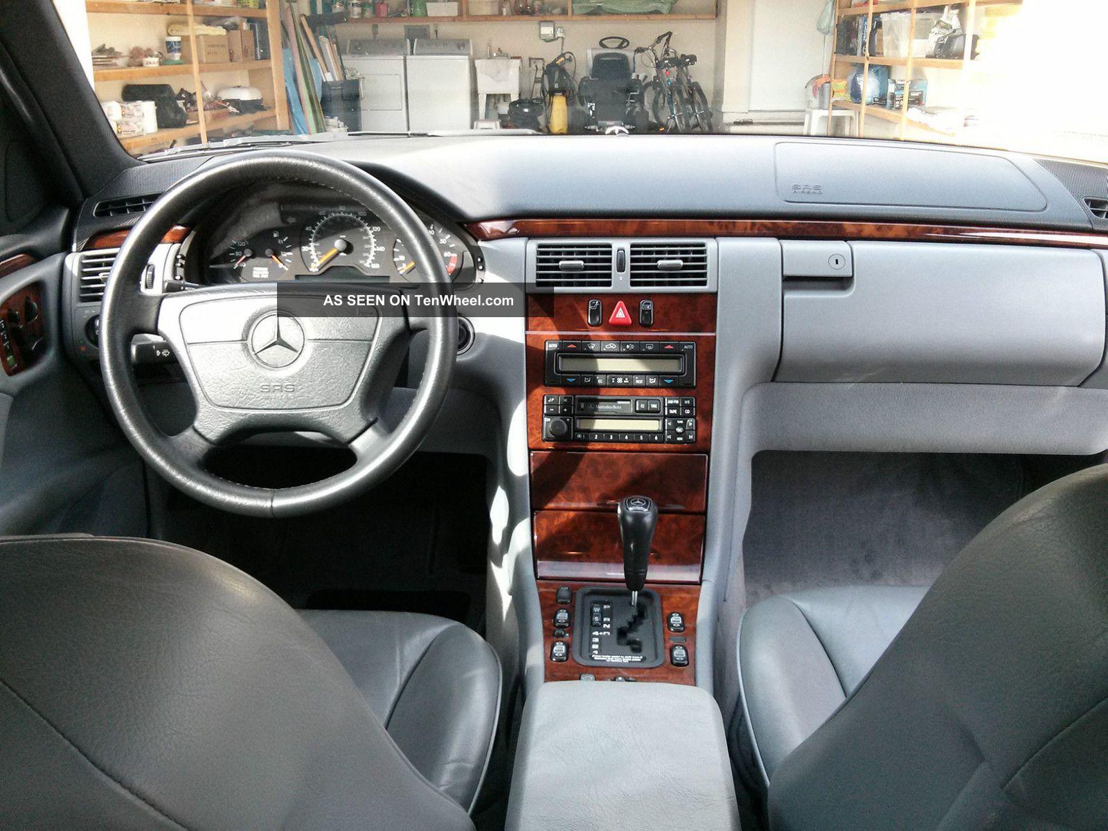 1998 Mercedes Benz E320 Base Sedan 4 Door 3 2l
