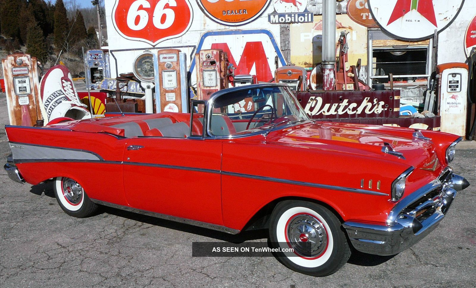 1957 Chevrolet Chevy Convertible Belair 57 Bel Air/150/210 photo