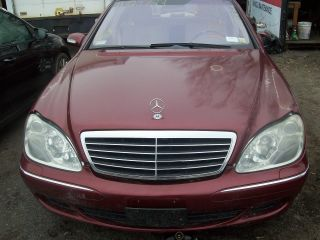 2003 S500 4matic Mercedes Light Water Damage photo