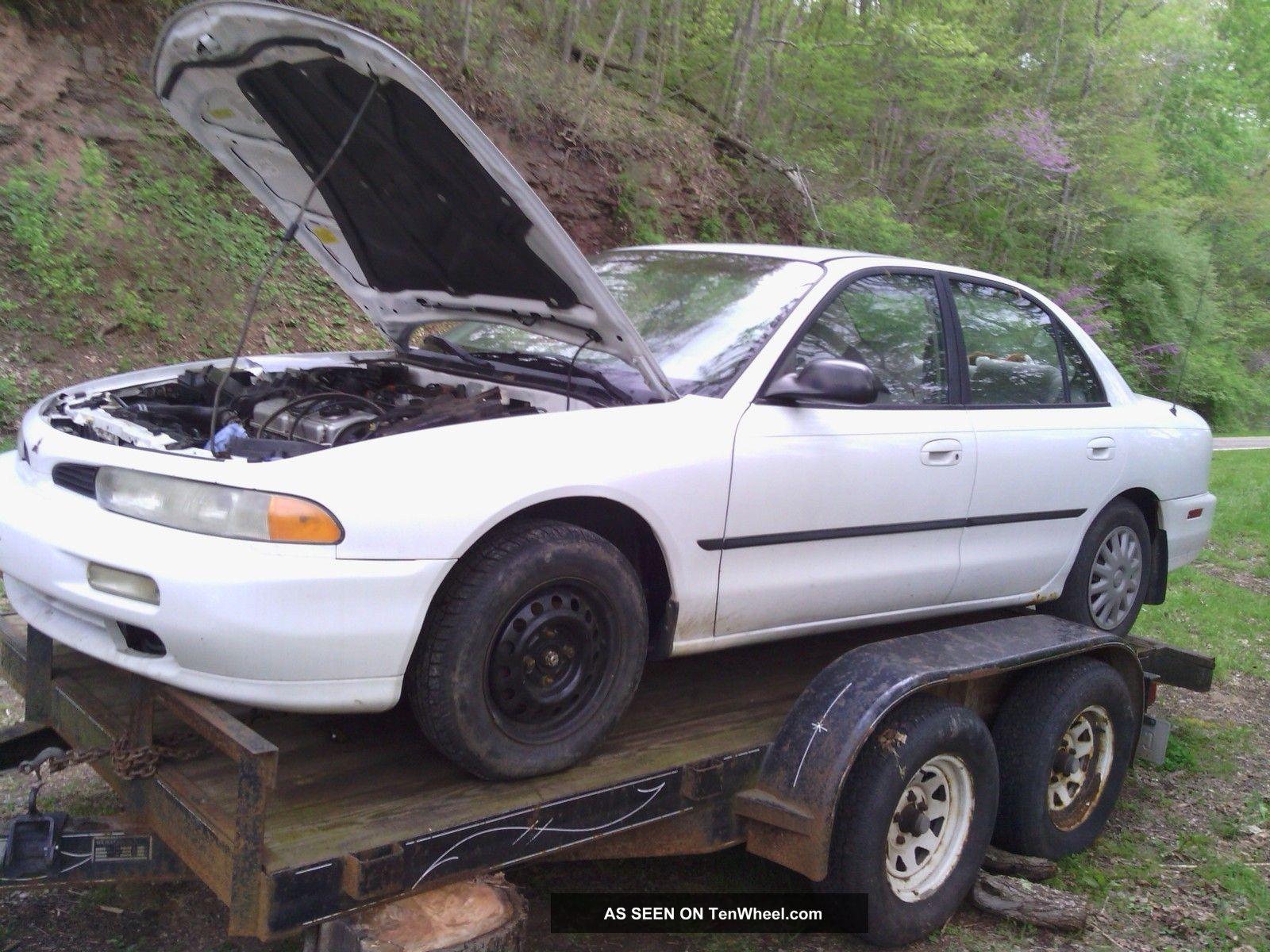 1996 Mitsubishi Galant S Sedan 4 - Door 2.  4l Not Running Galant photo
