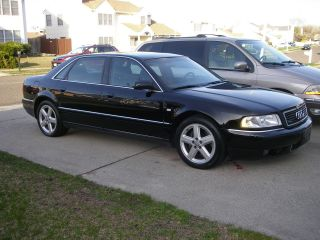 2002 Audi A8 Quattro L Sedan 4 - Door 4.  2l With / Black On Black photo