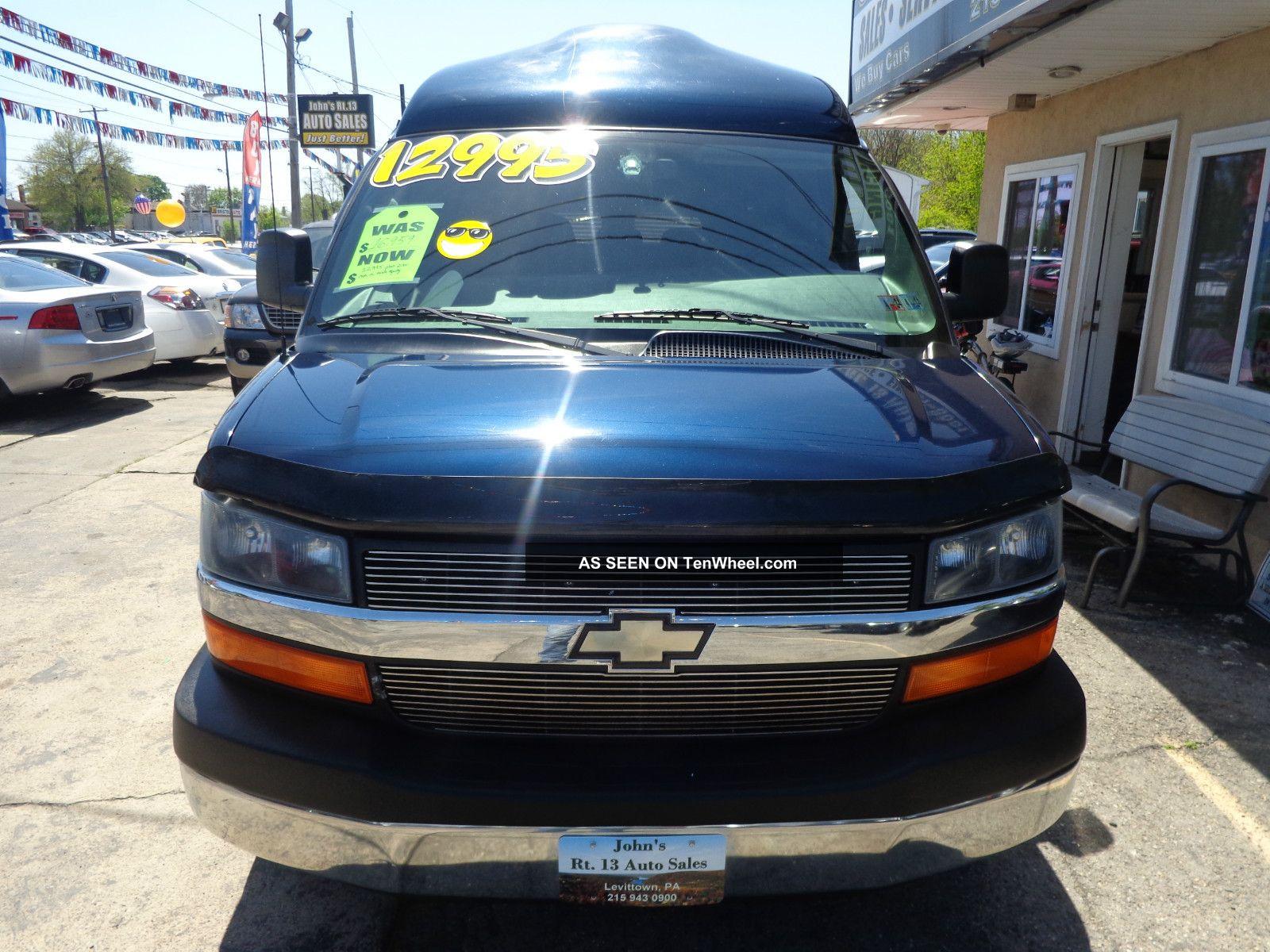 Lakeside Chevrolet Buick Gmc >> 2005 Chevrolet Express Cargo Van Yf7 Upfitter | Autos Post