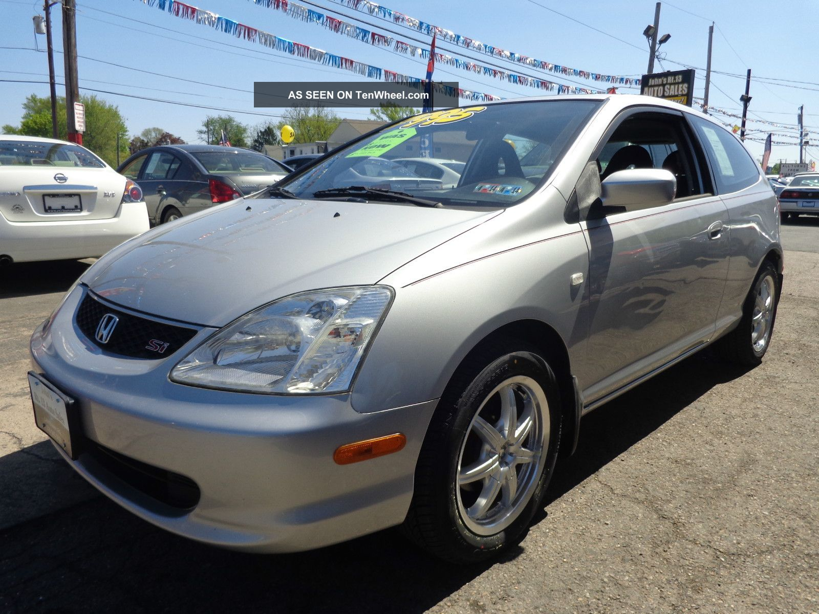 2002 Honda Civic Si Hatchback 3 Door 2 0l