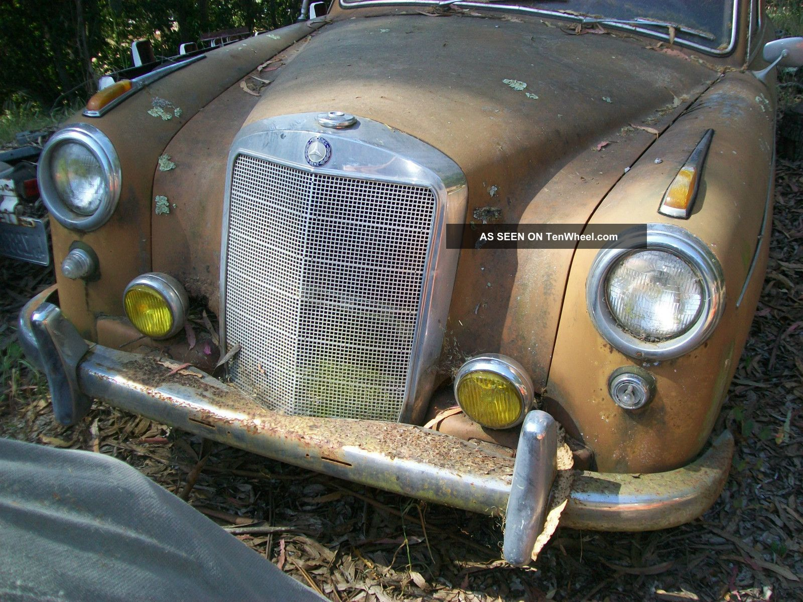 1959 Mercedes - Benz 200 - Series - Ponton Complete Car For Restroation 200-Series photo