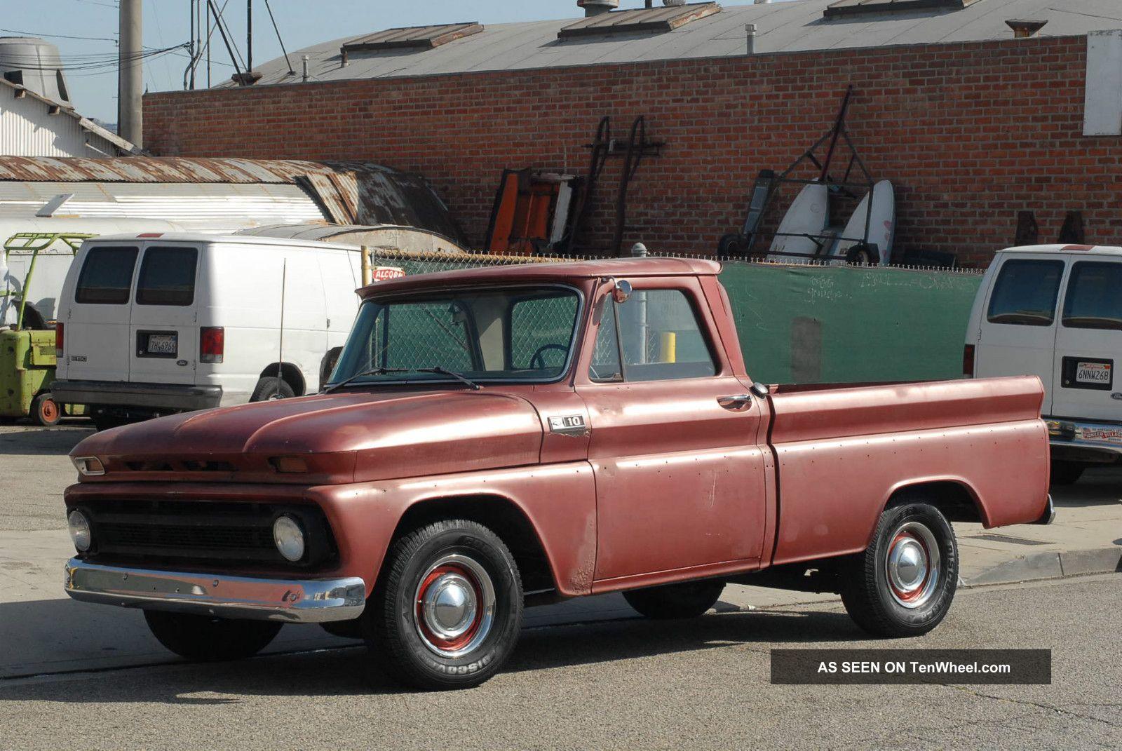 1960,  1961,  1962,  1963,  1964,  1965,  1966 C10 Chevy Swb Big Window Truck Pick Up C-10 photo