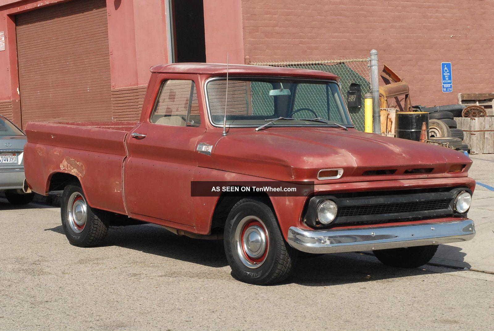 1960 1961 1962 1963 1964 1965 1966 C10 Chevy Swb Big Window Pickup Truck Pick Up