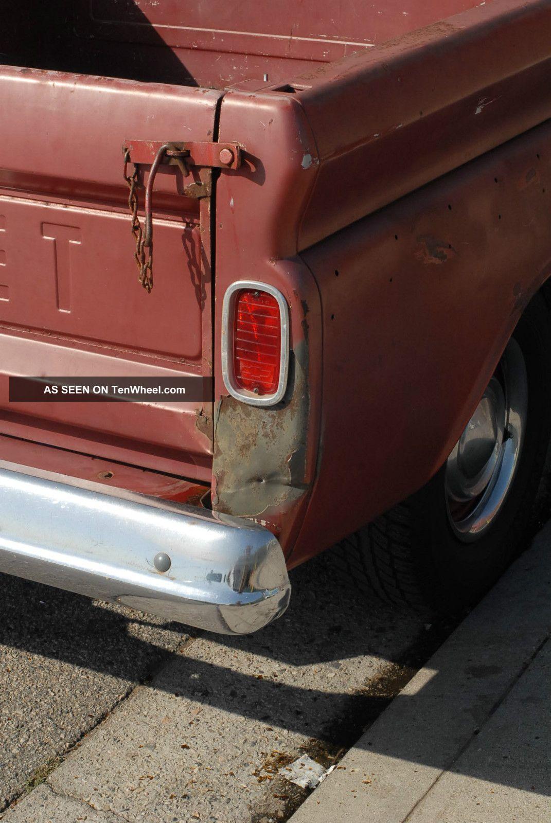 1960 1961 1962 1963 1964 1965 1966 C10 Chevy Swb Big Window Truck Pick Up