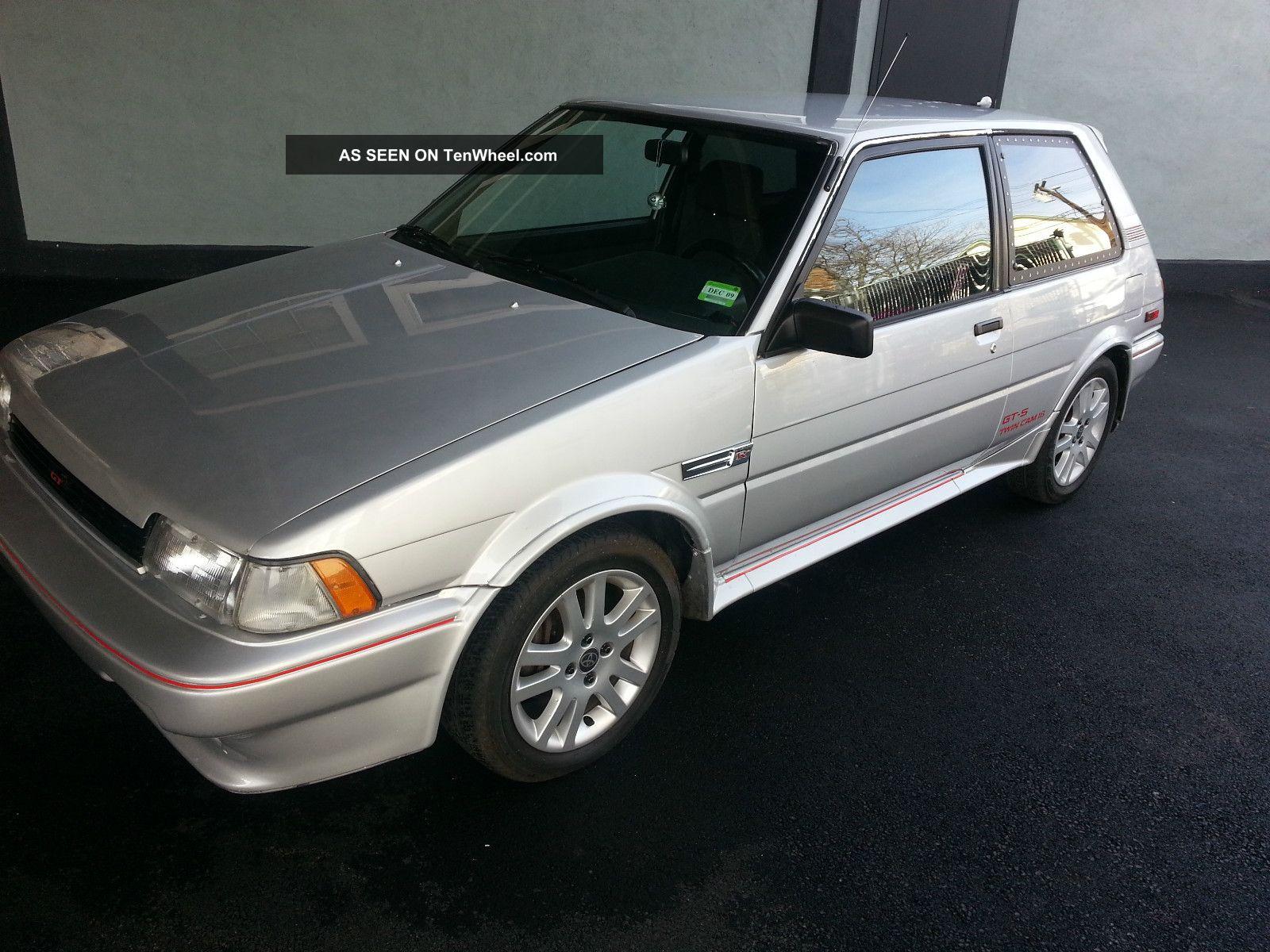 1987 Toyota Corolla Fx16 Gts Hatchback 2 Door 1 6l