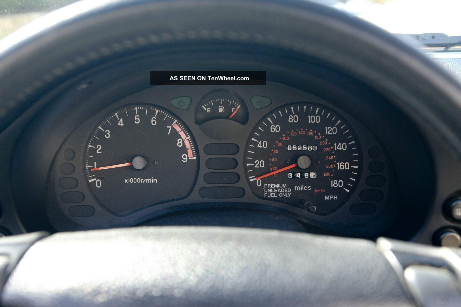 1996 Mitsubishi 3000gt Spyder Vr 4 Convertible 2 Door