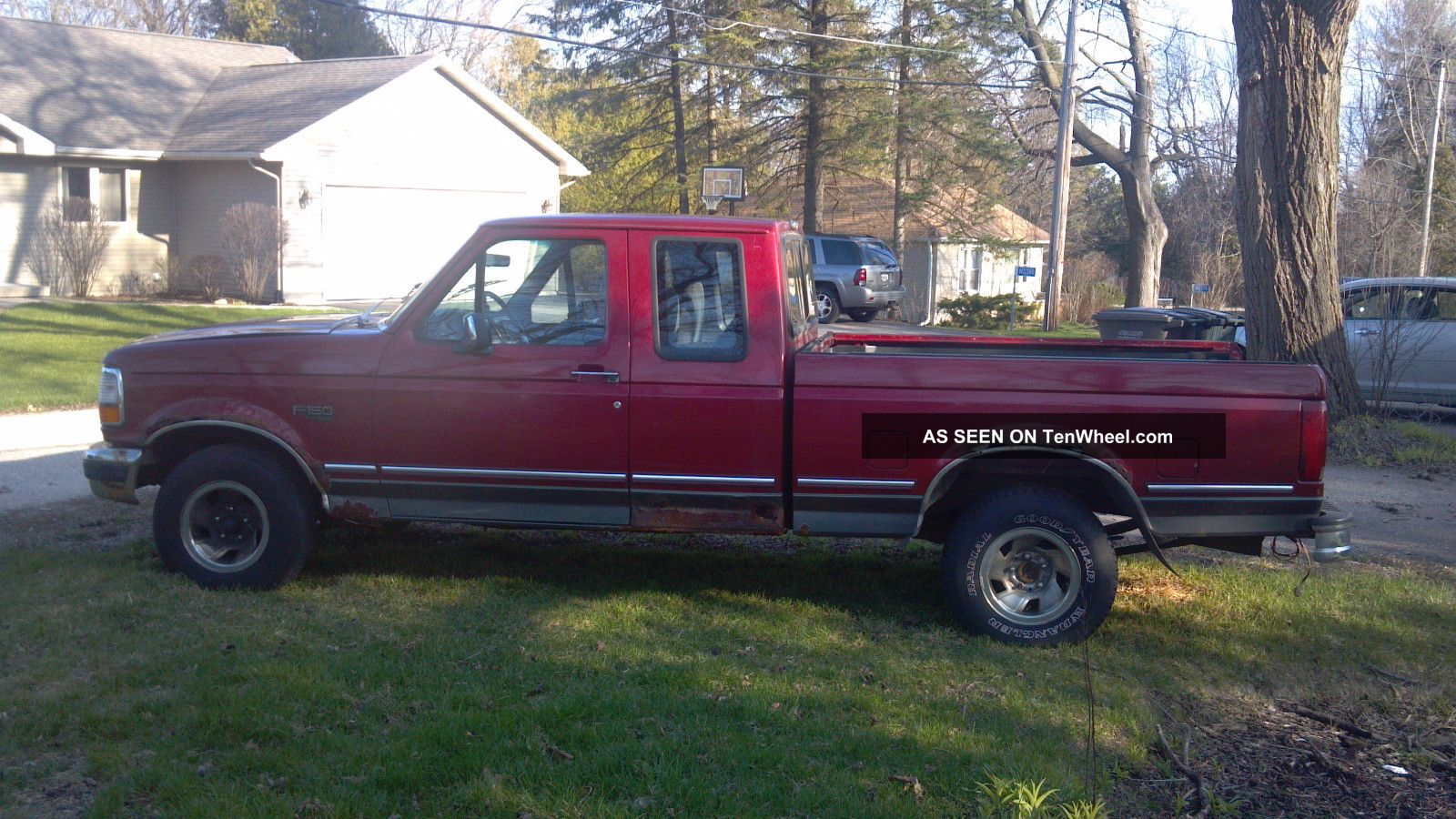 1993 ford f 150 xlt extended cab pickup 2 door 5 0l. Black Bedroom Furniture Sets. Home Design Ideas