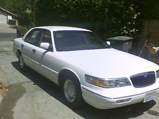 1996 Mercury Grand Marquis Ls Sedan 4 - Door 4.  6l photo