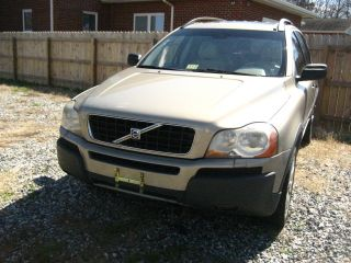 2003 Volvo Xc90 T6 Awd Tan Loaded Needs Engine Work And photo