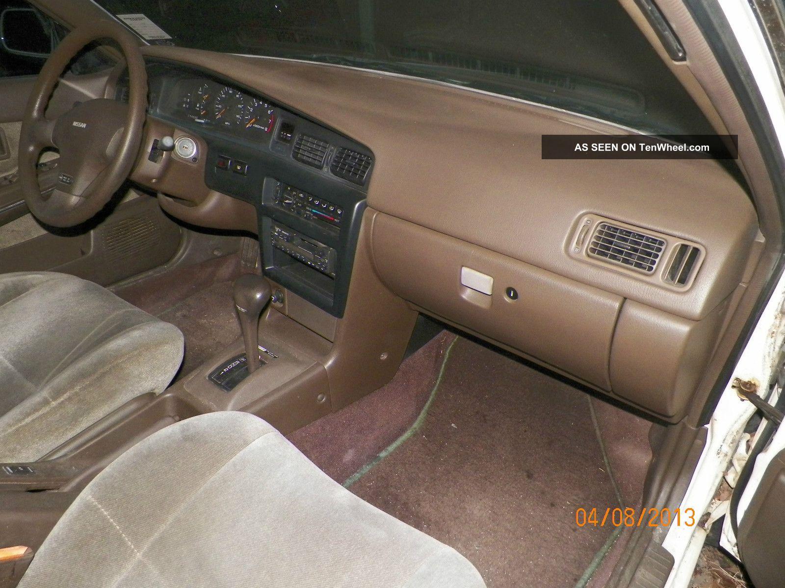 1992 Nissan Stanza Xe Sedan 4 Door 2 4l A Must S