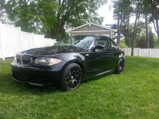 2008 Bmw 135i Black On Red photo