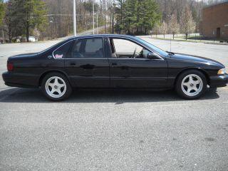 1996 Black Chevrolet Impala Ss Built Engine photo